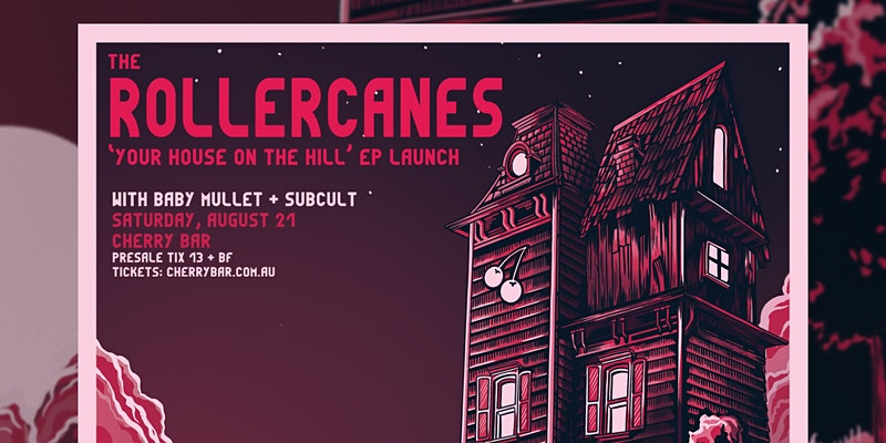 The Rollercanes EP Launch